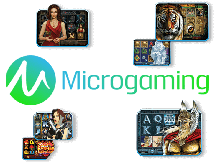 Microgaming online casino games