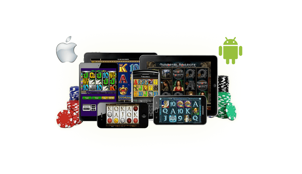 Play Casino games on your iPad, iPhone, and Android smartphone and tablet