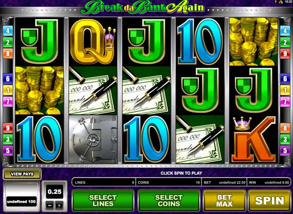 Break The Bank Again Online Video Slot