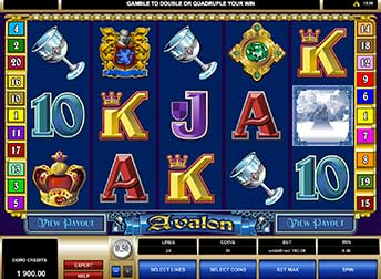 Avalon Pokie - Micro Gaming - Free Play and Real money game play