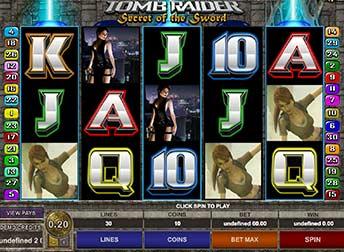 Tomb Raider 2 Pokie Microgaming Free Play and real money